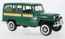 Jeep Willys Station Wagon, grün 1955  - 1:18 Lucky Die Cast  *NEW*