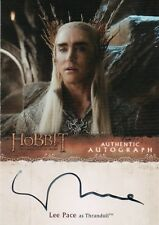 The Hobbit The Desolution Of Smaug, Lee Pace 'Thranduil' Autograph LP