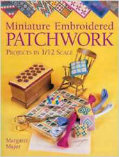Miniatura Ricamato Patchwork, Nuovo, Maggiore, Margaret LIBRO
