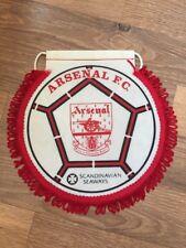Pennant: Arsenal F.C. Scandinavian Seaways Travel Club