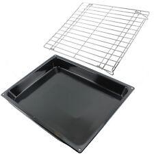Large Enamel Roasting Tin Oven Base Tray + Shelf Rack for BOSCH NEFF SIEMENS