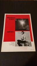 BARBRA STREISAND CHRISTMAS ALBUM  (1967) RARE ORIGINAL PRINT PROMO POSTER AD