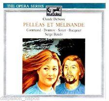 Debussy: Pelleas et Melisande / Baudo, Command, Dormoy, Bacquier - CD