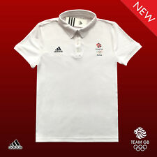 ADIDAS TEAM GB ISSUE UNISEX ELITE ATHLETE CLIMACHILL POLO SHIRT Size 46/48