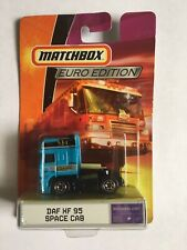Matchbox 2009 Euro Edition DAF XF 95 Space Cab RARE Dinky (Lamley Collection)