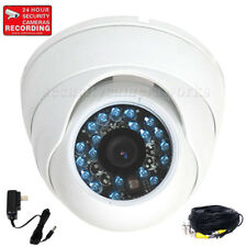 Outdoor Dome Security Camera 1/3 inch CCD IR Night Vision Wide Angle 480TVL BDB