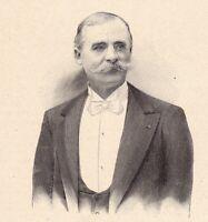 Portrait Charles Abel Ballif Touring Club de France Automobile Tours