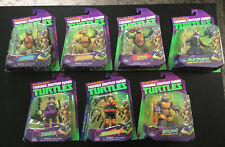 Teenage Mutant Ninja Turtles Tmnt Set of 7 Figures Lot Playmates 2013 New Heroes