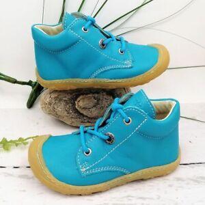 Ricosta PEPINO CORY Gr. 22 WMS M Kinder Baby Lauflernschuhe Halbschuh Leder Blau