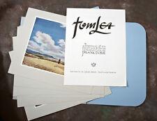 Tom Lea Portfolio of Six Paintings - Fine Prints & Intro by J. Frank Dobie 1953