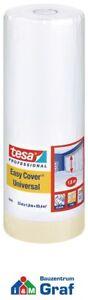 Tesa 4368 Premium Pittori Mascheramento con Pellicola Coprente,33 M x 1,8 = 59,4