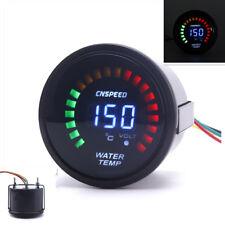 1x 52mm Car SUV Digital/Analog LED Electronic Water Temp Temperature Gauge Meter