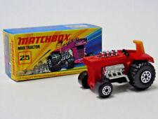Tracteurs miniatures en plastique 1:64