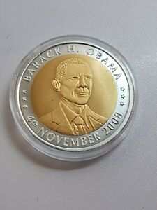 Barack Obama 2008 Excellent Condition Coins Token United States Of America