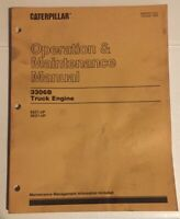 Caterpillar 3306B Diesel Truck Engine Operation & Maintenance Manual.