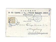 Netherlands Indies : Old Chinese Briefkaart, MOEARAAMAN '27 to MOENTILAN.