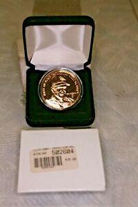 Highland Mint Cal Ripken Hall of Fame gold overlay Medallion LE 2007 - Look