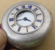 Antique OMEGA GRAND PRIX PARIS 1900 Pocket Watch half hunter hall marked 3963473