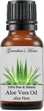 Aloe Vera Oil - 15 mL - 100% Pure and Natural - Free Shipping - US Seller