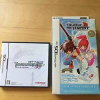 Nintendo DS SD Tales of Hearts Japan w/ New Hori Tales of Tempest DS Case (Used)