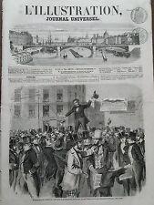 L'ILLUSTRATION 1856 N 718 ELECTION DU PRESIDENT JAMES BUCHANAN AUX ETATS- UNIS