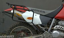 Whole-welded luggage rack system for Honda XR400R Black Mmoto