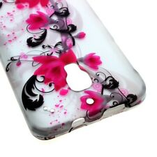 Hard Cover Protector Case for ALCATEL One Touch Fierce 7024W - Purple Lily