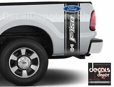 Fits FORD F-150 XL XLT SXT Platinum King Ranch Crew Cab Bed Fender Door Decal