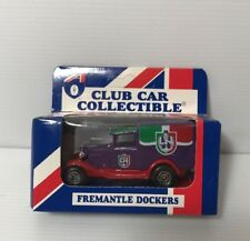 AFL FREMANTLE DOCKERS Car Collectibles Model A Ford 1995 Matchbox Toys NEW