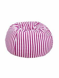 Bean bag Cover Cotton chair without Bean Pink Home decor for luxuries gift