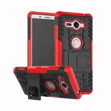 Etui Hybride 2 Pièces Extérieur Rouge Housse Étui pour Sony Xperia XZ2 Compact
