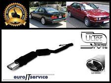 SILENCIEUX POT D'ECHAPPEMENT BMW E34 525 1987-1993 1994 1995 1996 TIP 120x80