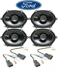 "Hifonics 6x8"" Front+Rear Car Speaker Replacement Kit For 1999-2003 Ford F-150"