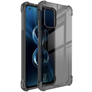 For Asus Zenfone8 ZS590KS IMAK Airbag Shockproof TPU Case +Free Screen Protector
