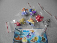 New Kinder Surprise Toys 6 x 2016 FINDING DORY  English Part set one paper