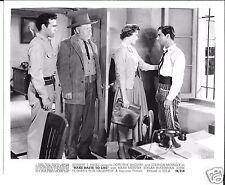 """Dorothy McGuire Pepe Hern Edgar Buchanan """"Make Haste To Live"""" 1954 8x10 still"""