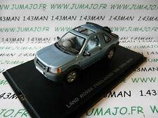 voiture 1/43 UNIVERSAL HOBBIES : Land rover freelander 1998 bleu