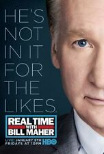 Real Time Bill Maher Poster 24in x36in