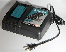 Makita DC18RC Rapid Fast Lithium-Ion Battery Charger NEW No Retail Package BLUE
