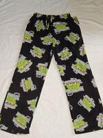 Oscar the Grouch Pajamas Fleece Lounge Sesame Street NEW Sleep Pants Mens S M