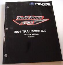 POLARIS OEM USED LIGHT ATV SERVICE MANUAL CD 07 TRAIL BOSS 330 9920774