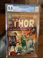 Marvel Comics Journey Into Mystery #116 CGC 5.5 Thor Loki Stan Lee Jack Kirby