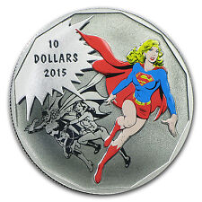 2015 Canada 1/2 oz Silver $10 DC Comics Originals: Unity - SKU #94196