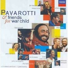 PAVAROTTI/JOHN/CLAPTON/CROW/MINNELLI/+ - PAVAROTTI & FRIENDS FOR ... CD NEW!