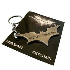 The Dark Knight Rises Official Studio Promo Metal NISSAN Keychain PROP BATMAN