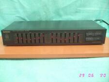 Ecualizador grafico TECHNICS SH-8038 Stereo Graphic Equalizer para amplificador.