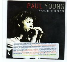 (FT357B) Paul Young, Your Shoes - 2011 DJ CD