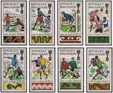 Timbres Sports Football Rwanda 354/61 ** lot 25804