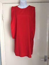 "Womens size S Small Vero Moda sleeveless red dress ladies 34"" Bust"