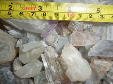 Spodumene Kunzite Hiddenite Triphane Crystal Over 10 g Large Pieces 200 gram Lot